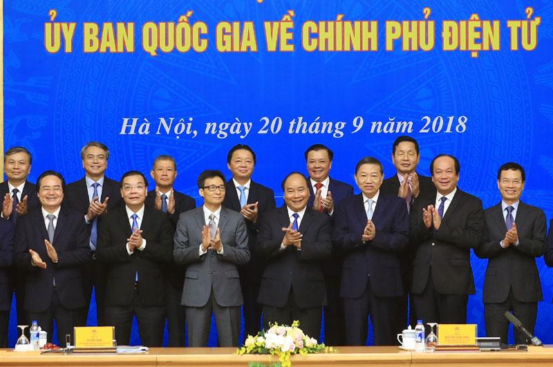 Phiên họp của Ủy ban quốc gia về chính phủ điện tử