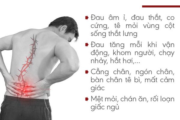 Triệu chứng gai cột sống cần chú ý