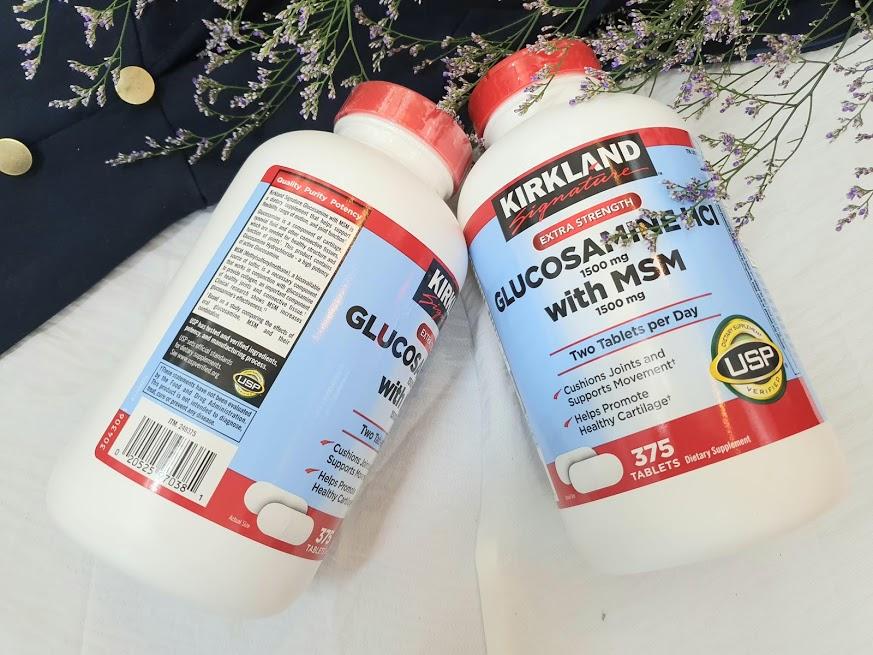 Lưu ý cho người thoái hóa đốt sống cổ uống Glucosamine