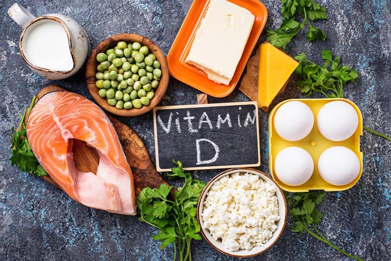 Các loại thực phẩm vitamin D tốt cho người bệnh gai cột sống