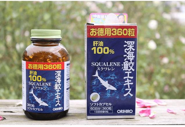 Orihiro Squalene - Thuốc trị thoái hóa cột sống của Nhật